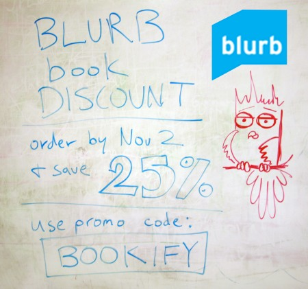 Blurb discount coupons