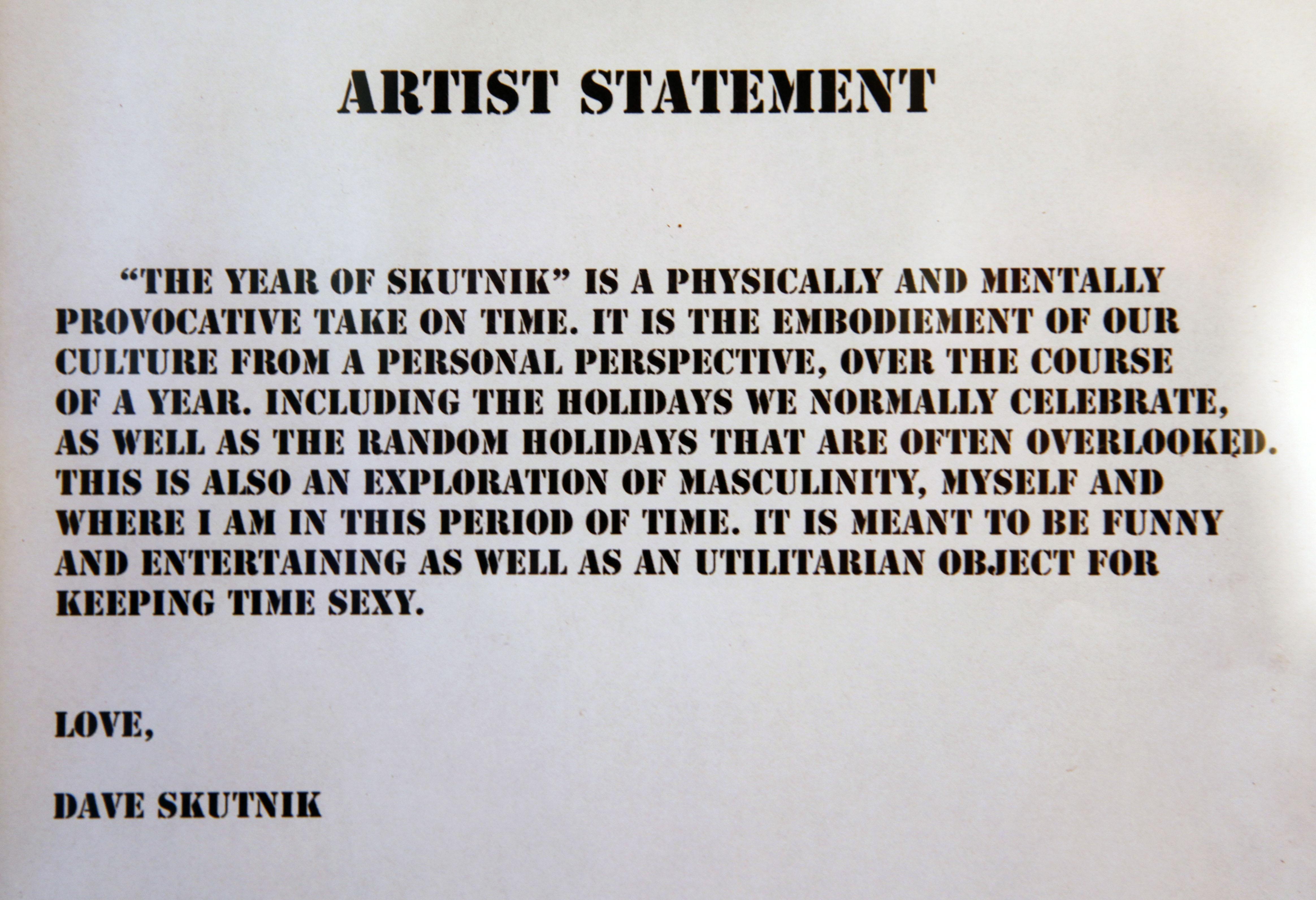 October 2010 CSU Photo – Sample Artist Statement