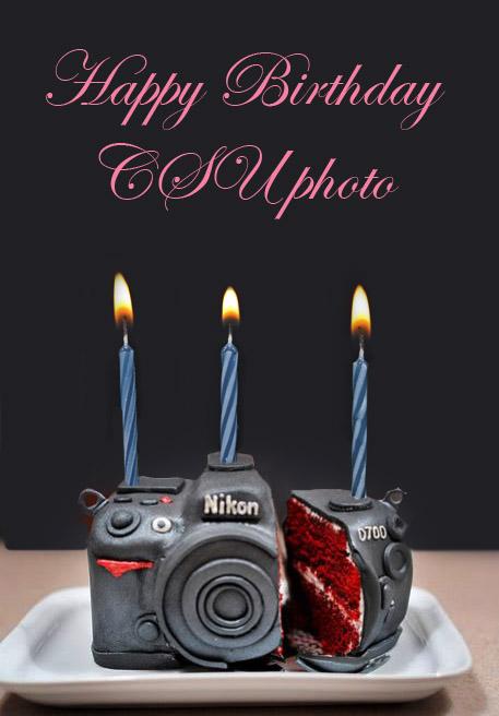 Remarkable Camera Cake Csu Photo Personalised Birthday Cards Veneteletsinfo