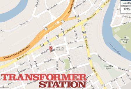 transformer station map