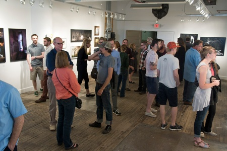 Opening Reception for Spotlight: Emerging Photographers.