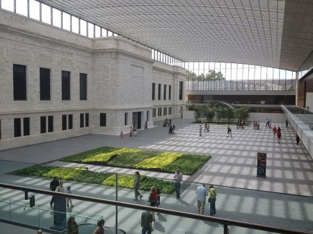 The Cleveland Museum of Art's recently opened atrium.