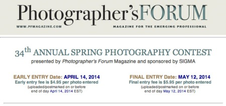 Photographers Forum contest