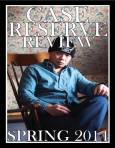 Yiyun Chen on the cover the Fall 2014 issue of the Case Reserve Review.