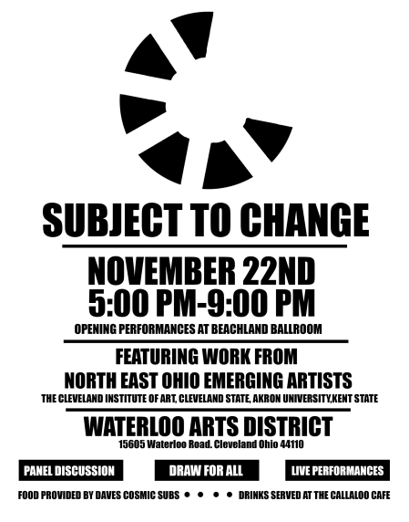 Subject to Change poster