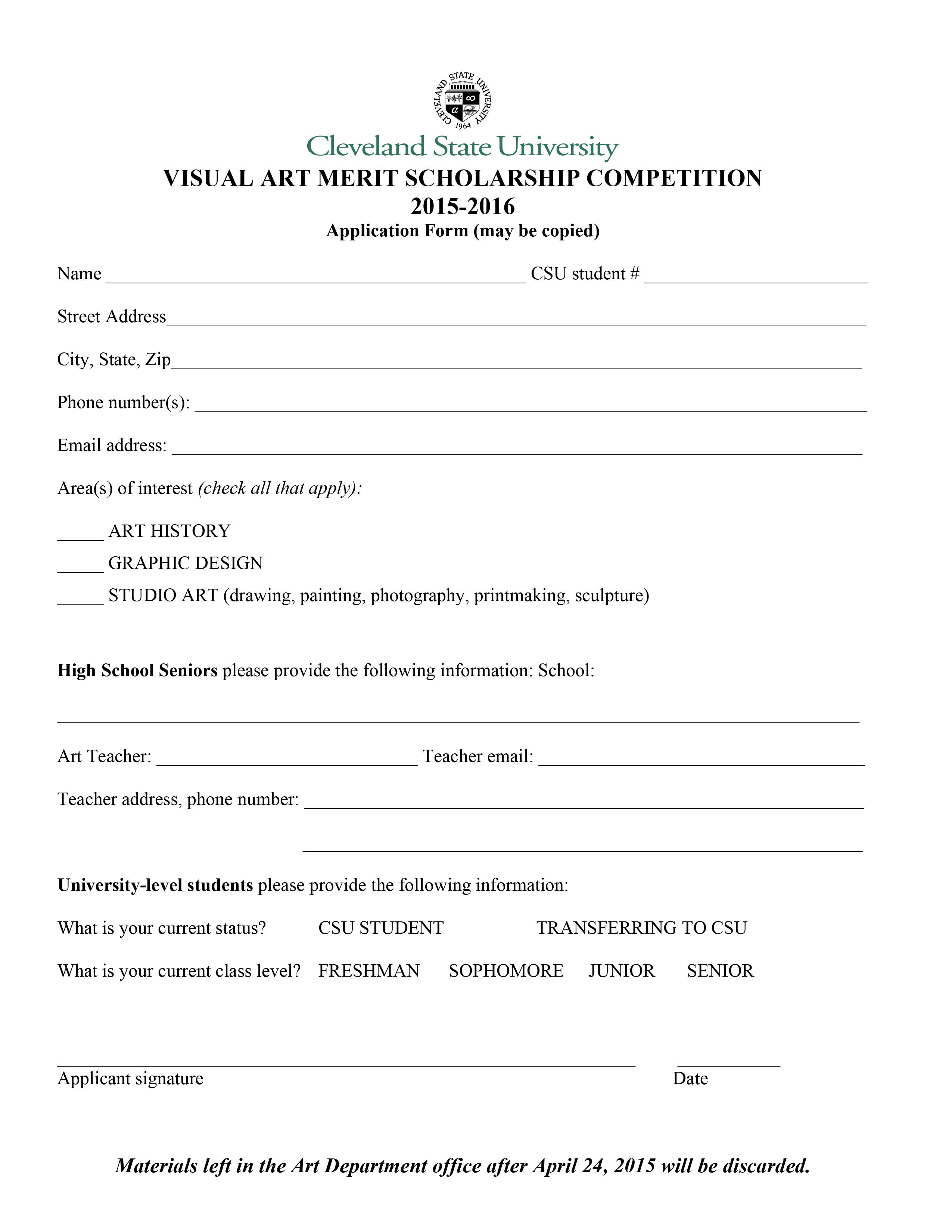 merit-scholarship-2 Of Visual Arts Application Form on during colonial period india, versus alternative, exhibition evaluation,